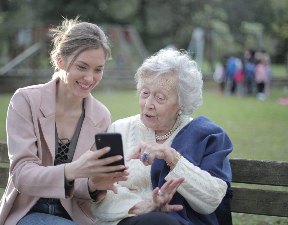 Vida real e idosos digitais